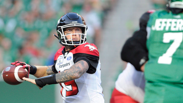 CFL Wired: Week 7 - Bo Levi powers Stamps past Roughriders