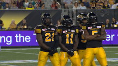 Dean and Lawrence give Ticats a dynamic duo