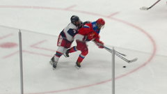 Must See: Nikolayev puts USA defence in the spin cycle