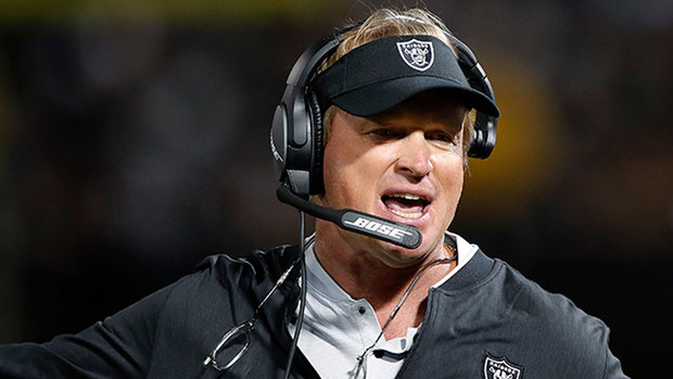 Best Gruden sideline moments from Preseason Week 1