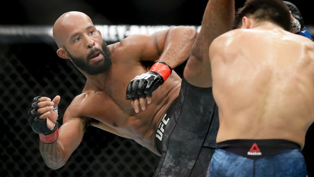 Demetrious Johnson says he's in 'excruciating pain'