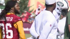 Swearinger gets major flinch out of Pryor with fake punch