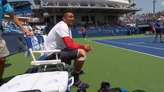 Must See: Kyrgios shows up for match without his shoes