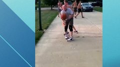 Must See: Baller shows age is just a number with wild fake