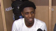 Barrett: It was 'surreal' to play for Duke at home