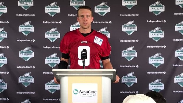 Foles not worried about Brady's lack of handshake after SB