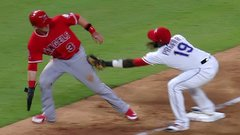 Must See: Rangers pull off rare 5-4 triple play