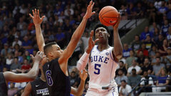 Bilas: Barrett doing 'amazingly well' but far from a final product