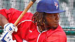 Guerrero Jr. goes 1-for-4, average falls to .345