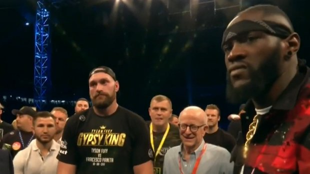 Wilder says fight with Fury is on