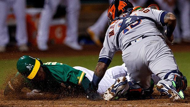 MLB: Astros 3, Athletics 4 (10)