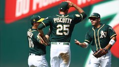 How the A's reached first place