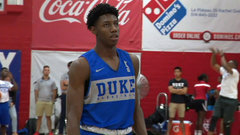 Must See: Barrett, Williamson put on dunking show after Duke practice