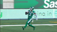 CFL Must See: Marshall reads Mitchell's pass for pick-6