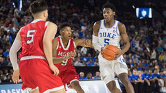 Barrett and Williamson don't disappoint in final game of Duke's Canada tour