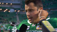 Collaros: 'I haven't been on a team that's beaten Calgary since like 2013'