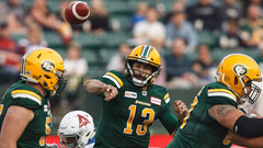 CFL Wired: Week 10 - Reilly passes for 400 yards as Esks top Als
