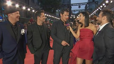 98 Degrees Say It's Great To Be Back | 2018 iHeartRadio MMVA Red Carpet