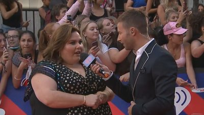 Chrissy Metz Says 'You Gotta Suit Up And Show Up' | 2018 iHeartRadio MMVA Red Carpet