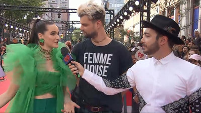 Sofi Tukker Interview | 2018 iHeartRadio MMVA Pre-Game