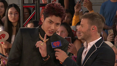 Kris Wu Wins Fan Fave New Artist | 2018 iHeartRadio MMVA Red Carpet