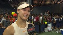 Despite impressive win, Bouchard knows she can be even more aggressive