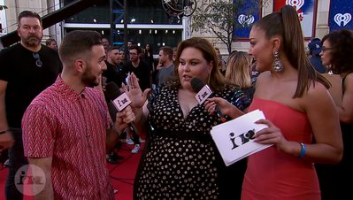 Chrissy Metz Describes The New Season of 'This Is Us' In Emojis | 2018 iHeartRadio MMVA FORA Red Carpet
