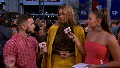 Tyra Banks Says It's Ok To Be Yourself | 2018 iHeartRadio MMVA FORA Fashion Feed