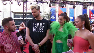 Sofi Tukker Discusses Pineapples and Poor Fashion Choices | iHeartRadio MMVA FORA Fashion Feed