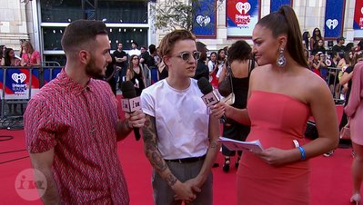 Tattoo Talk with Scott Helman | 2018 iHeartRadio MMVA FORA Fashion Feed