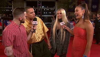 Ashlee and Evan Talk Fashion and Tease Their New Show | 2018 iHeartRadio MMVA FORA Fashion Feed