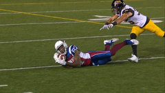 CFL Must See: Manziel fires to Lewis who makes a spectacular diving catch