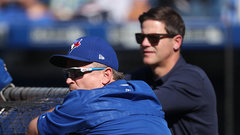 Atkins evasive on Gibbons' future as Jays' bench boss