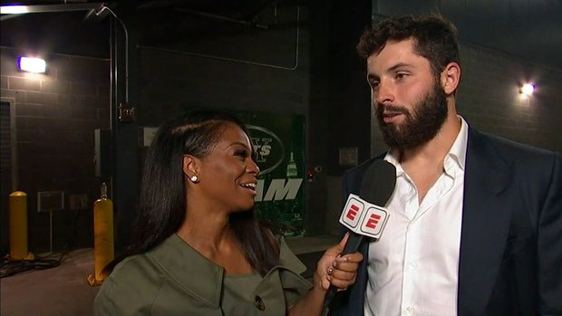 Mayfield: I wouldn't say first NFL game was 'nerve-racking'