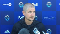 Robinson thought Whitecaps' effort was 'amazing'