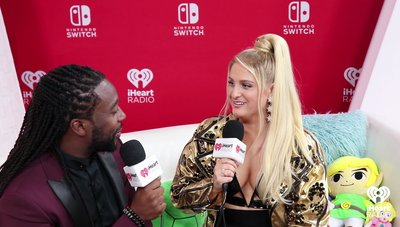 Meghan Trainor Says Her Canadian Fans Are Very Polite  | 2018 iHeartRadio MMVA Nintendo Lounge