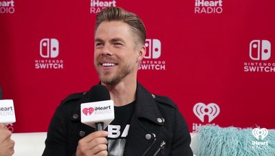 Derek Hough Talks About The Marshmello/Shawn Mendes Surprise | 2018 iHeartRadio MMVA Nintendo Lounge