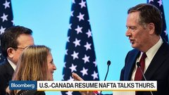 U.S.-Canada to Resume Nafta Talks on Thursday