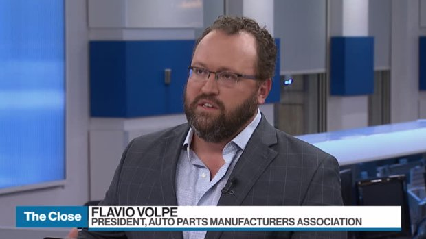 'We'll handle them in court': Volpe on auto tariff threats