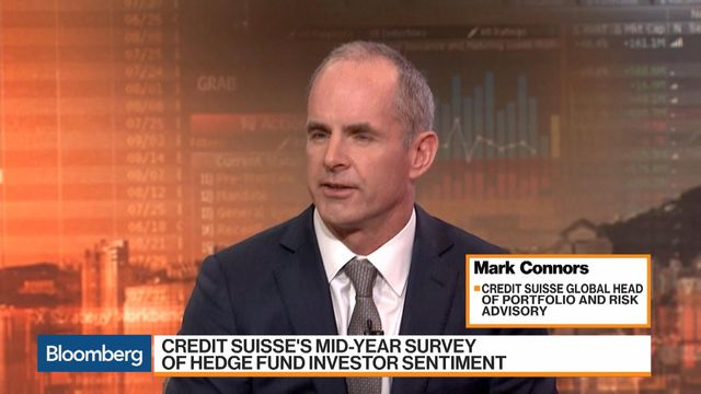 Credit Suisse's Connors Says Get Into Emerging Markets - Video - BNN