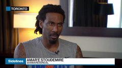Amar'e Stoudemire's entrepreneurial playbook includes clothing and kosher wines
