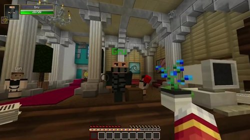 Crave - The Pals in Minecraft Hotel