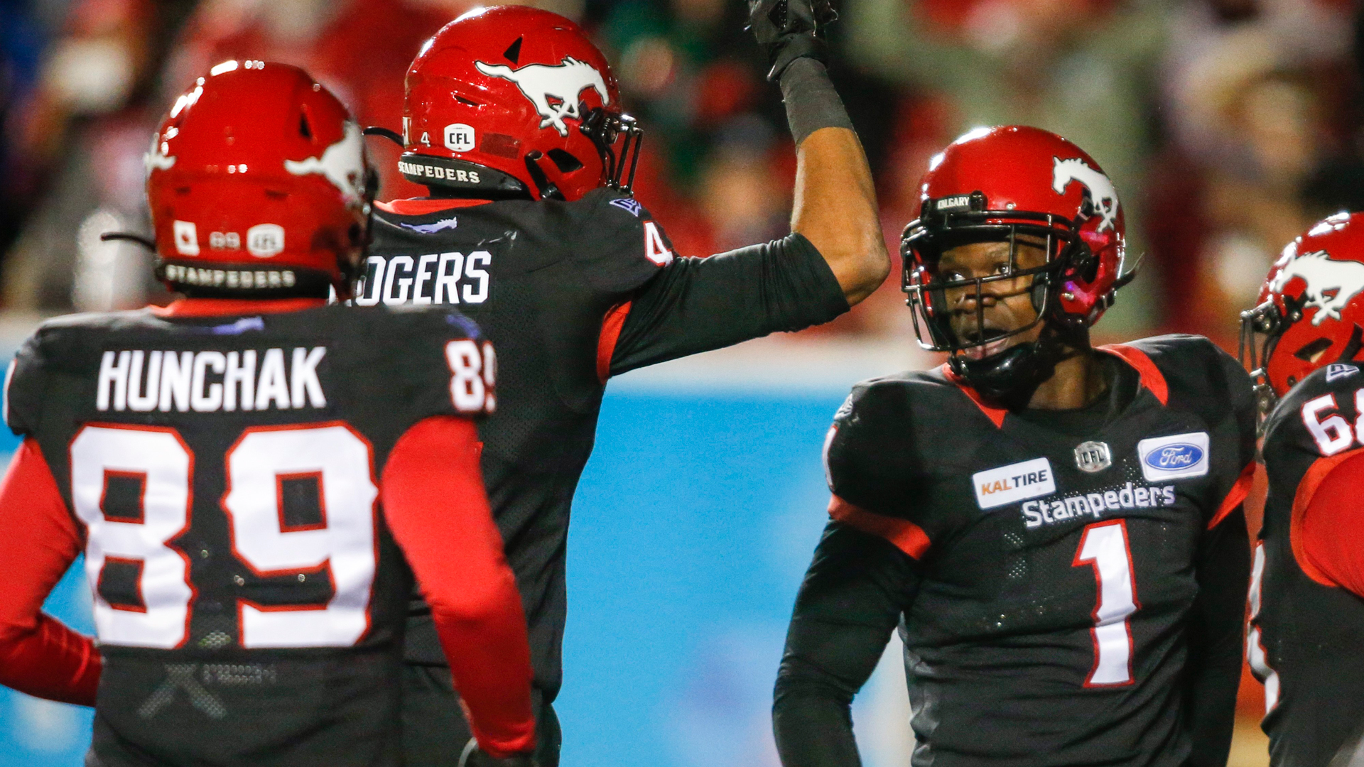 Which team has easier path to claim West: Stamps, Riders or Bombers?
