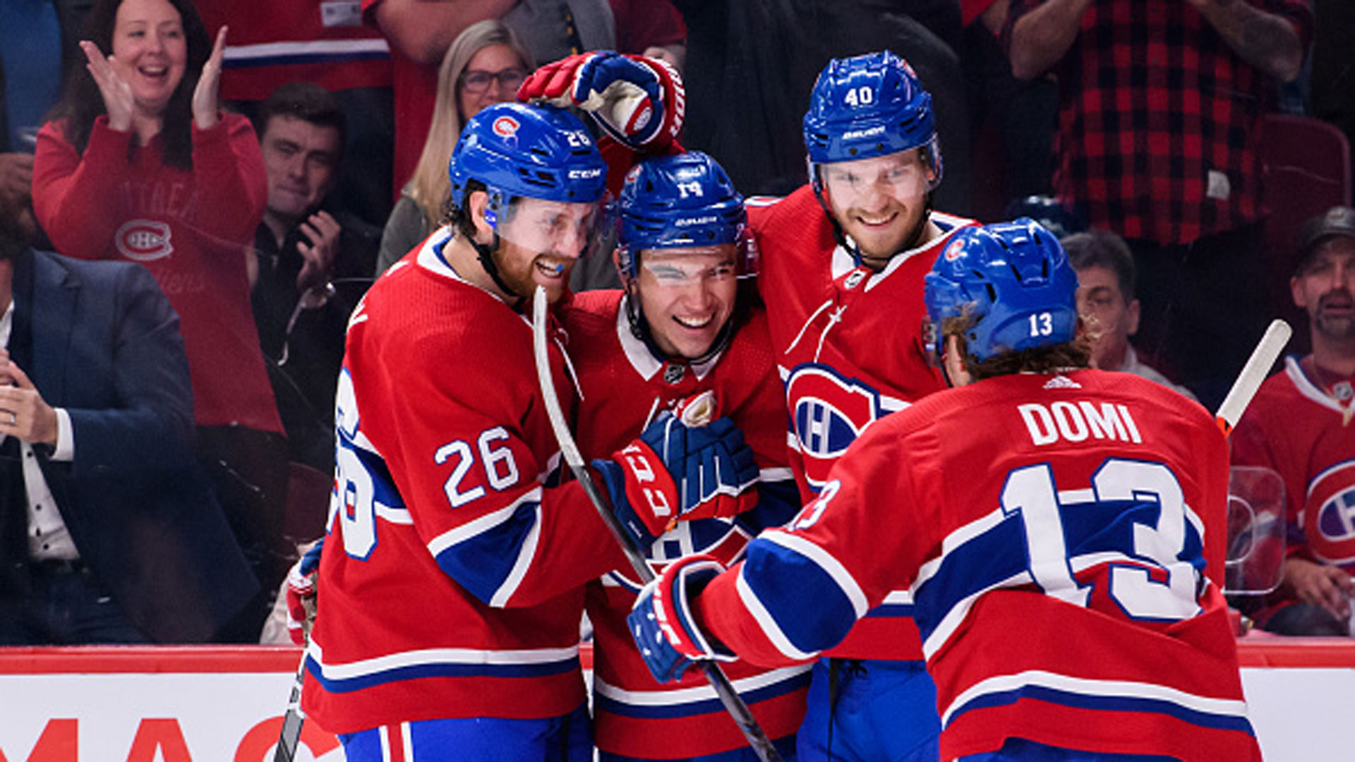 NHL: Wild 0, Canadiens 4