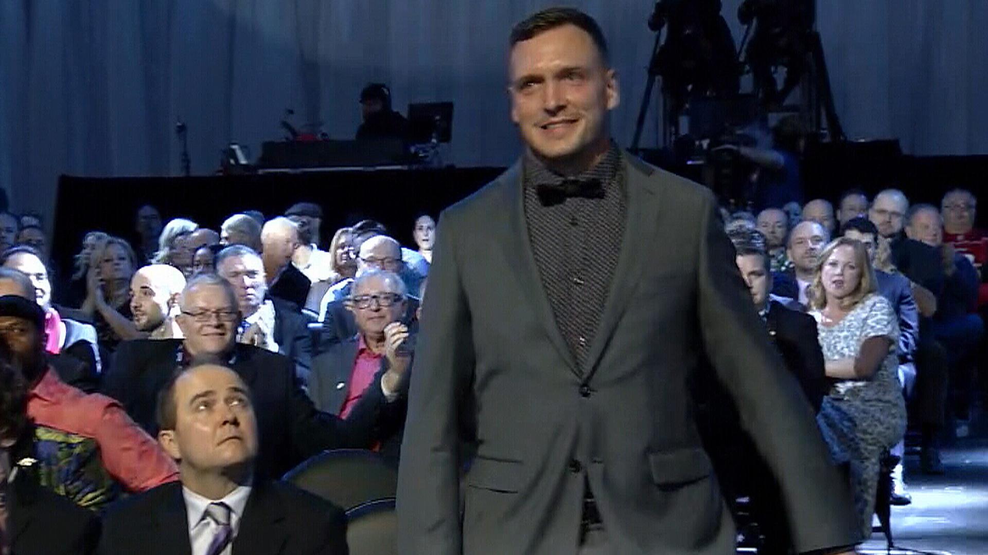Montreal's Bédard receives Jake Gaudaur Veterans' Award