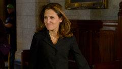 Freeland heading to D.C. to push new NAFTA forward: Reports