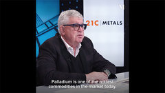 Palladium is one of the hottest commodities in the market today