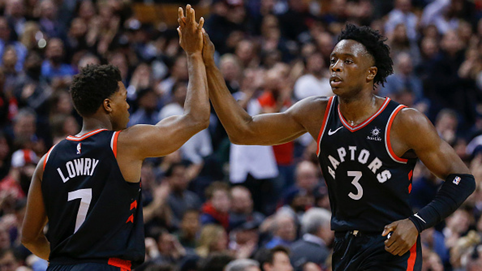Anunoby rising to the challenge for Raptors while Lowry continues to lead