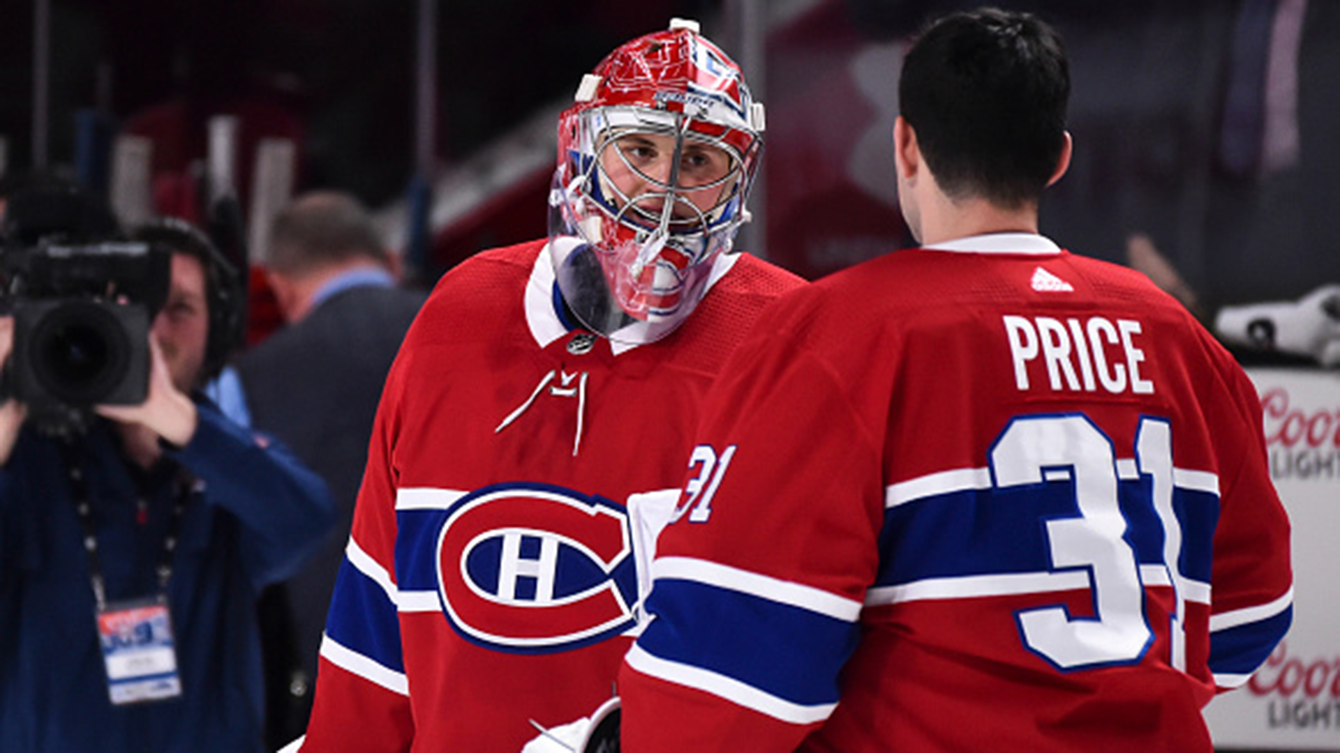 Primeau learning the ropes under 'big brother' Price's tutelage