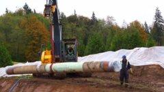 Trans Mountain construction begins